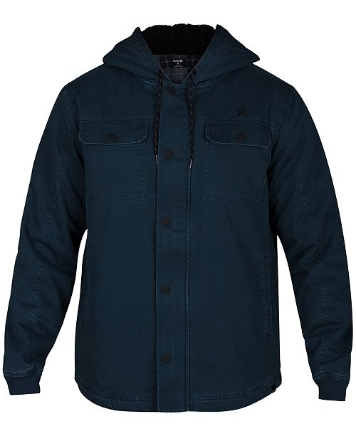 Hurley Men's Outdoor Hooded Jacket