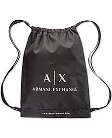 A|X Armani Exchange Men's Logo Backpack Gift