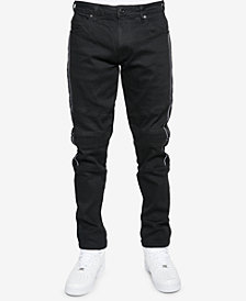 Sean John Men's Slim-Fit Moto Jeans, Created for Macy's