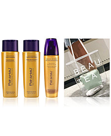 Pai-Shau 4-Pc. RouTEAne Holiday SpecialTEAS Gift Set, from PUREBEAUTY Salon & Spa