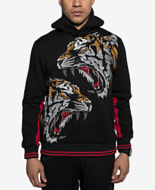Sean John Mens Vexed Tiger Graphic Hoodie