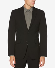 Perry Ellis Men's Washable Slim-Fit Luxe Blazer