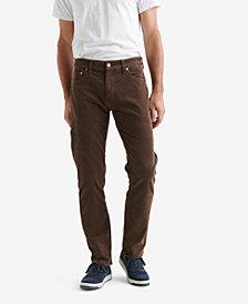 Lucky Brand Men's 221 Original Straight Fit Corduroy