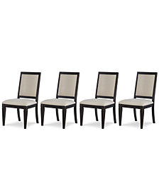 Rachael Ray Everyday Dining, 4-Pc. Set (4 Upholstered Back Side Chairs)