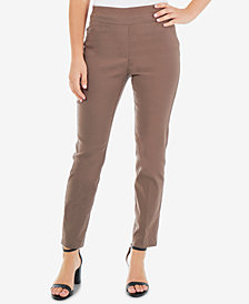 NY Collection Petite Pull-On Slim-Fit Pants