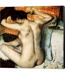 Woman Combing her Hair by Elya De Chino Canvas Art