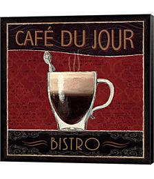Coffee Shop III by Marco Fabiano Canvas Art
