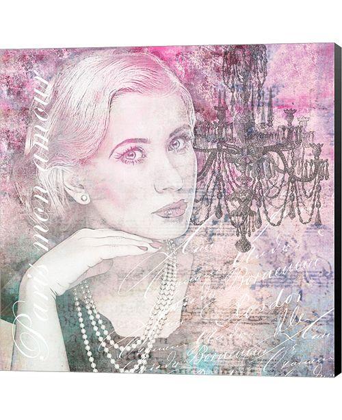 Metaverse Paris Mon Amour by Andrea Haase Canvas Art