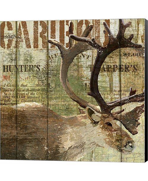 Metaverse Open Season Caribou by Art Licensing Studio Canvas Art