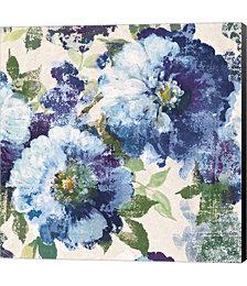 Indigo Floral Gallery by Kazimir Malevich Canvas Art