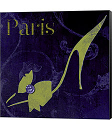 Paris Shoes by Mindy Sommers Canvas Art