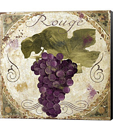 Tuscany Table Rouge by Color Bakery Canvas Art