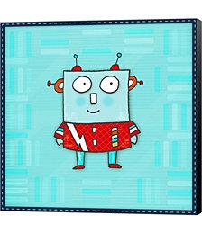 Robot Boy by Carla Martell Canvas Art
