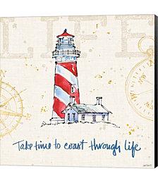 Coastal Life VI by Pela Studio Canvas Art