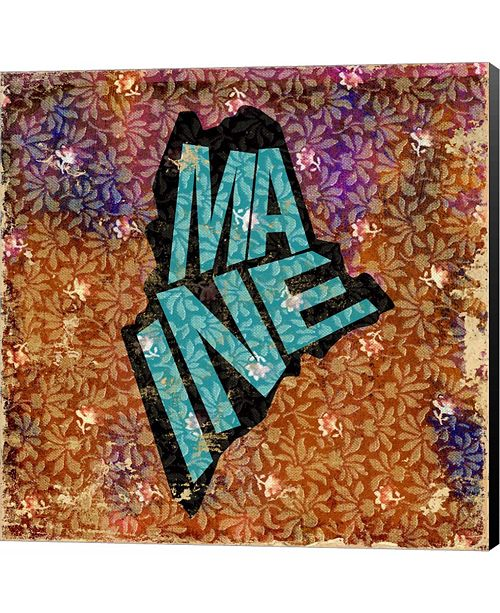 Metaverse Maine on Pattern by Art Licensing Studio Canvas Art