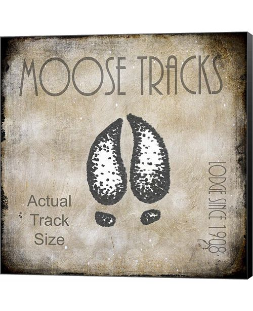 Metaverse Moose Lodge 2 - Moose Tracks 2 by LightBoxJournal Canvas Art