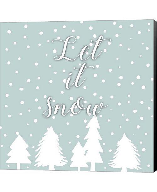 Metaverse Let It Snow by Anna Quach Canvas Art