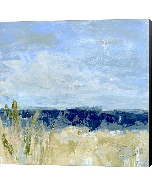 Metaverse Winter Beach III by Pamela J. Wingard Canvas Art
