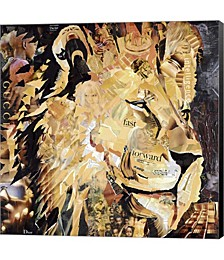The Lion by James Grey Canvas Art