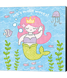 Magical Mermaid I by Patsy Ducklow Canvas Art
