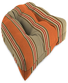 Jordan Manufacturing Outdoor Wicker Chair Cushions,  Set of 2