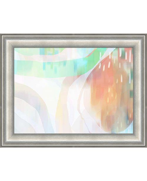 Metaverse Cape Apricots by Delores Naskrent Framed Art