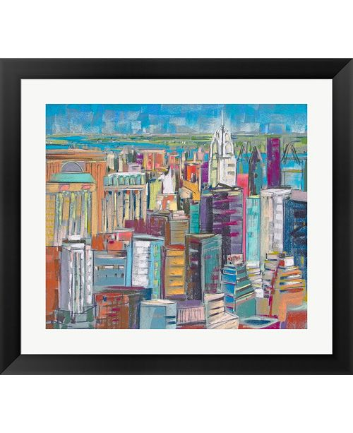 Metaverse Chrysler 6 by Jennifer Gardner Framed Art
