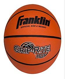 Intermediate Size Grip-Rite 100 Rubber Basketball