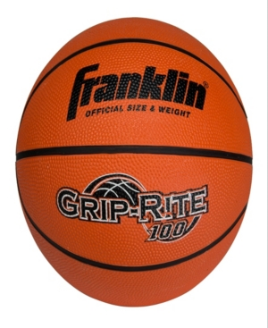 Franklin Sports Intermediate Size Grip-Rite 100 Rubber Basketball