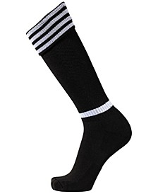 Acd Soccer Socks-Large (Black/White)