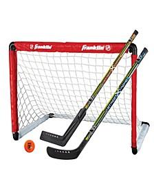 NHL Goal 2 Stick Set