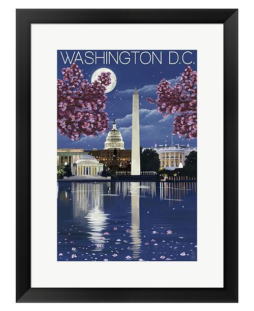 Metaverse Washington DC by Lantern Press Framed Art