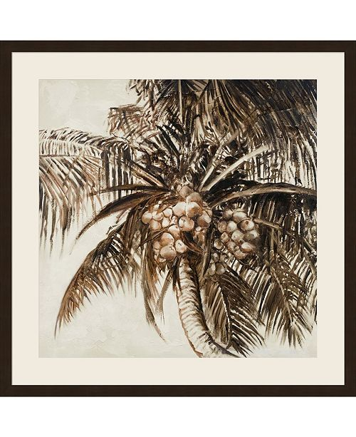 Metaverse Coconut Palm I by Patricia Pinto Framed Art