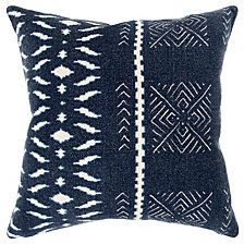 """Donny Osmond 20"""" x 20"""" Geometrical Design Poly Filled Pillow"""