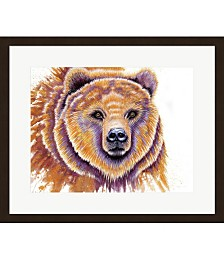Grizzly Bear by Michelle Faber Framed Art