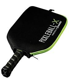 Pickleball-X Individual Paddle Cover-Black/Green