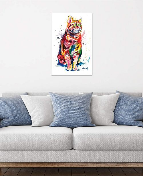 "iCanvas ""Tabby"" by Weekday Best Gallery-Wrapped Canvas Print"