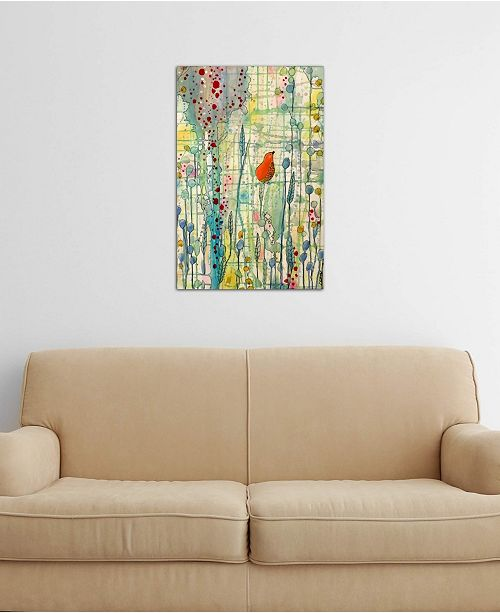 """iCanvas """"Alpha"""" by Sylvie Demers Gallery-Wrapped Canvas Print"""