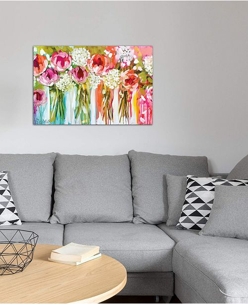 """iCanvas """"Tangerine Tango"""" by Assaf Frank Gallery-Wrapped Canvas Print"""