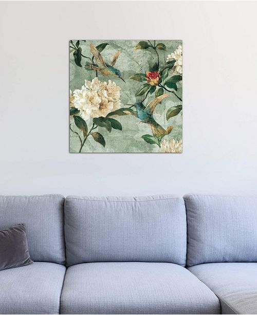"iCanvas ""Birds Of A Feather I"" by Reneé Campbell Gallery-Wrapped Canvas Print"