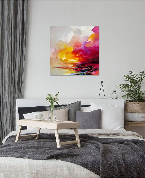 """iCanvas """"Magenta Shade"""" by Scott Naismith Gallery-Wrapped Canvas Print"""