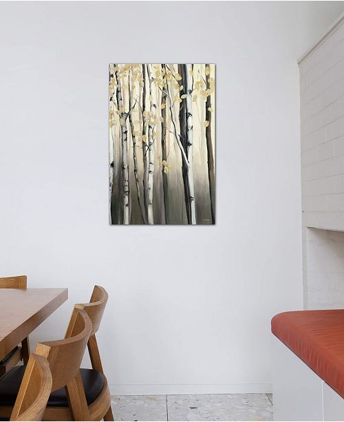 "iCanvas ""Golden Birch II"" by Marilyn Hageman Gallery-Wrapped Canvas Print (40 x 26 x 0.75)"