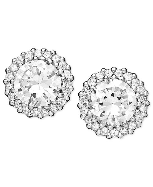 cc13e8909 Giani Bernini Pavé Cubic Zirconia Stud Earrings (2-3/4 ct. t.w.) in ...