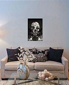 "iCanvas ""Room Skull B/W"" by Ali Gulec Gallery-Wrapped Canvas Print"