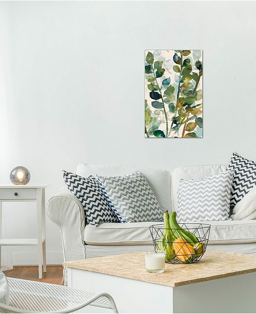 """iCanvas """"Fall Leaves II"""" by Asia Jensen Gallery-Wrapped Canvas Print (40 x 26 x 0.75)"""