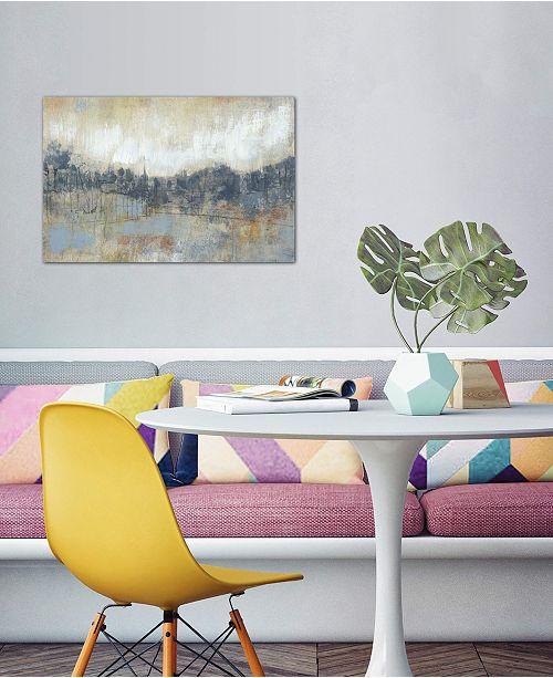 "iCanvas ""Cool Grey Horizon I"" by Jennifer Goldberger Gallery-Wrapped Canvas Print (18 x 26 x 0.75)"