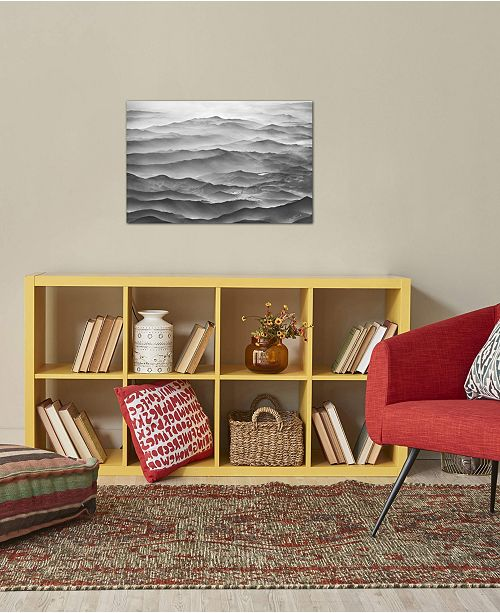 """iCanvas """"Ocean Mountains"""" by Ben Heine Gallery-Wrapped Canvas Print (18 x 26 x 0.75)"""