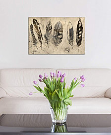 """iCanvas """"Quill"""" by Julian Spencer Gallery-Wrapped Canvas Print (18 x 26 x 0.75)"""