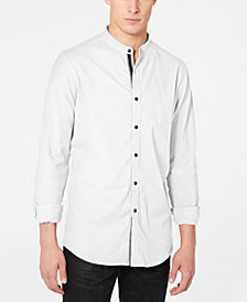 I.N.C. Men's Stretch Seersucker Shirt, Created for Macy's