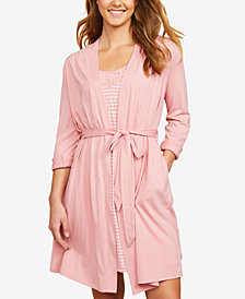 Motherhood Maternity Nursing Nightgown And Robe
